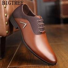b1abb4a0a Italiano sapatos formal homem vestido de casamento dos homens se vestem  sapatos de couro sapatos oxford