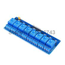 2PCS 8 Channel Relay Module 5V Active Low Board For Arduino PIC AVR MCU DSP NEW Free Shipping