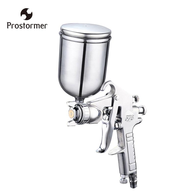 Prostormer 400 ml Airbrush Professionelle Pneumatische Spray Gun Sprayer Legierung Malerei Zerstäuber Werkzeug Mit Trichter Für Malerei Autos