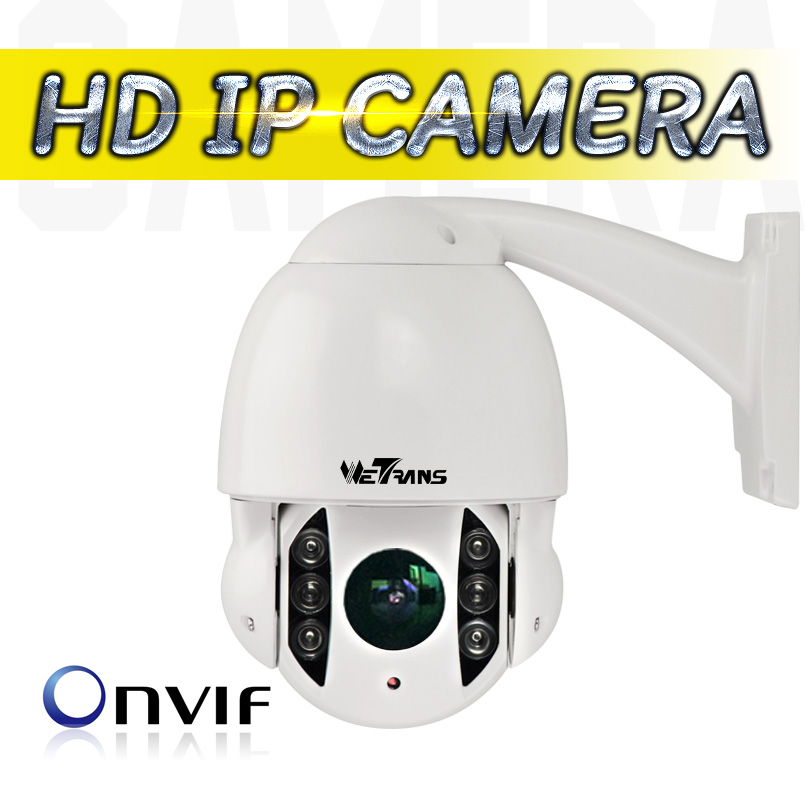 WETRANS IP Camera PTZ POE 10X Optical Zoom Mini 4 Inch 50m IR Night Vision 1080P Full HD Waterproof Outdoor CCTV PTZ Dome Camera 4 in 1 ir high speed dome camera ahd tvi cvi cvbs 1080p output ir night vision 150m ptz dome camera with wiper