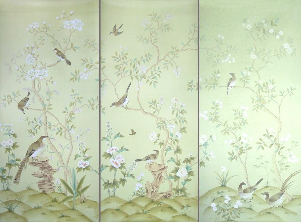 Popular Silk Wallpaper Buy Cheap Silk Wallpaper Lots From