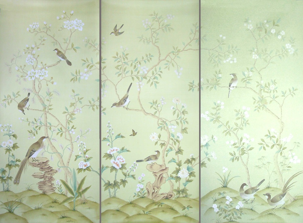 Popular silk wallpaper buy cheap silk wallpaper lots from for Cheap wallpaper for sale