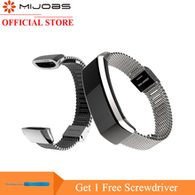 Mijobs metalni remen za Huawei Sport Band 2 za B29 B19 Smart Watch remen za ručni remen za rukavice za Huawei Watch Bracelet