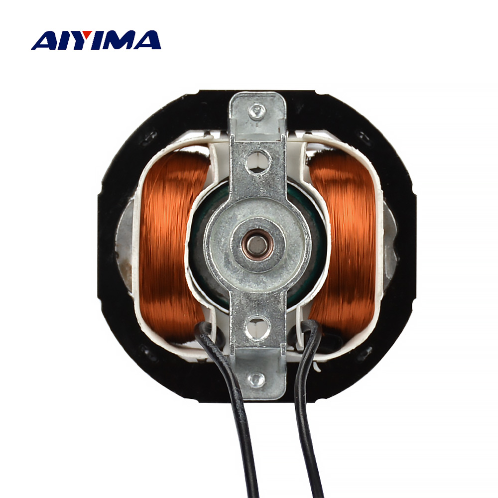 AIYIMA Asynchronous AC Motor YJ5812 2000W 50HZ 230V 2100-2300RPM All Copper Hood Pole Heater Accessories Moteur