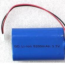3,7 v 5200 mah 18650 литий-ионная аккумуляторная батарея 18650-2 P Литий-ионная батарея