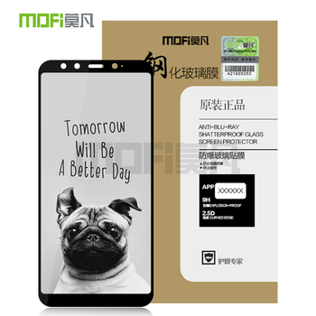 MOFI для Xiaomi Mi 6X стекло закаленное 2.5D полное покрытие из закаленного стекла для Xiaomi Mi 6X Защитная пленка для экрана для Xiao Mi 6X