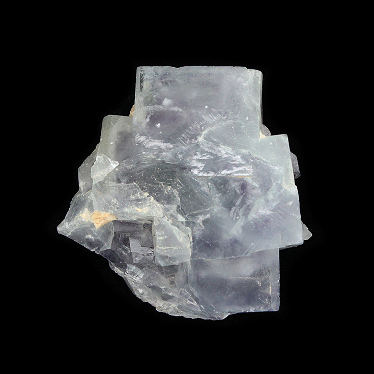 Yaogangxian fluorite crystal specimens teaching specimens produce small ornaments Mineral Collection Features Gift ygx09