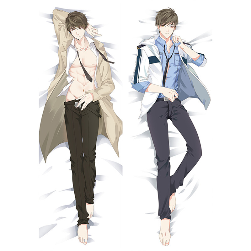 New Animation Love and producer Dakimakura Cover Cool Man anime Decorative Hugging body pillow caseNew Animation Love and producer Dakimakura Cover Cool Man anime Decorative Hugging body pillow case