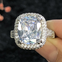Real picture on Hands No Ps Summer Sale 5A cz top quality Ring Cubic Zirconia Hot Ins sterling silver 925