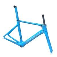 Aero carbon frame carbon road bike frame bicycle accessories toray t800 UD BB92 bottom bracket 50/53/56cm customizable