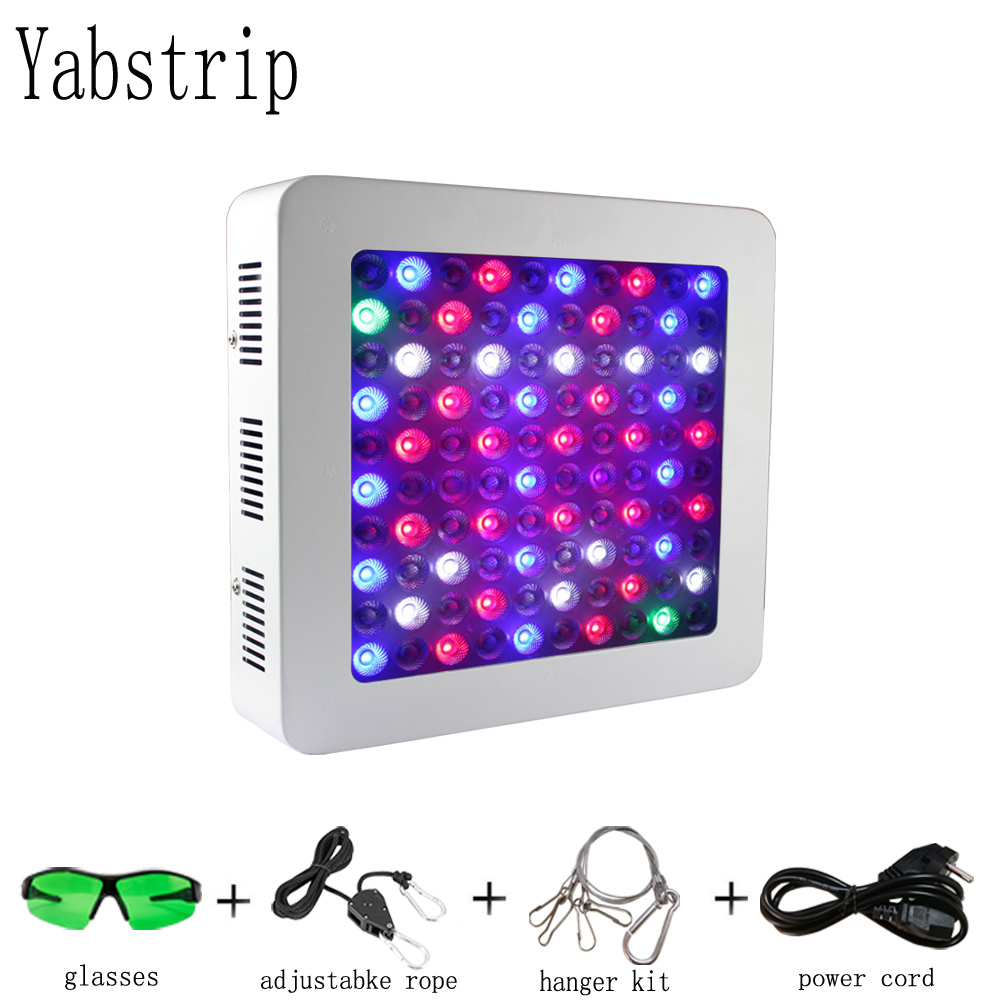 Yabstrip LED Grow Light Full Spectrum 600W 1000W 1200W For Indoor Flowers Vegetables Seeding Grow Phyto Lamp Veg Bloom Mode