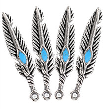 250Pcs Free shipping Hot New DIY Peafowls Feather Charms Pendants Charm Jewelry Findings 5mmx28mm