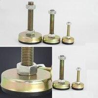 M8 M10 M12 50 Nylon um milímetro fio de Nylon Diâmetro Da Base Ajustável copo Tubo de perna de apoio do pé Pé De Nivelamento Pés Articulados|Pés dos móveis| |  -