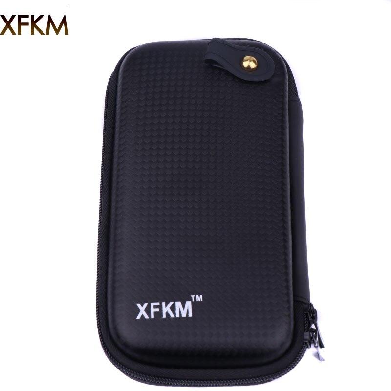 XFKM X6 Zipper Case Bags Dual Ego X6 Bag For Box Mod RDA RBA Vaporizer Coil Jig Vape Pliers E Cigarette Accessory