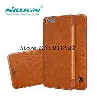 Nillkin Brand Huawei Nova Lite Case Huawei Nova Lite Cover Qin Series Flip Cover PU Leather