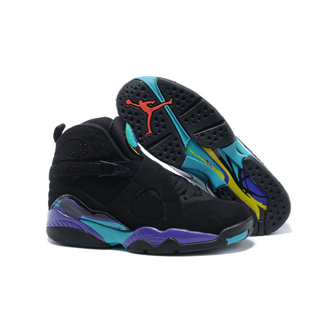 5233289b2388 2018 Jordan 8 Men Basketball Shoes Aqua Chrome COUNTDOWN PACK Playoff  Athletic Outdoor Sport Sneakers 41-46