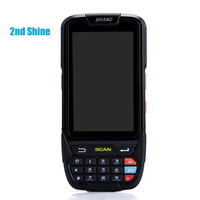 Wireless Rugged Data Collector Terminal Barcode Scanner PDA Android Bluetooth 1D 2D Reader with 4G/GPS