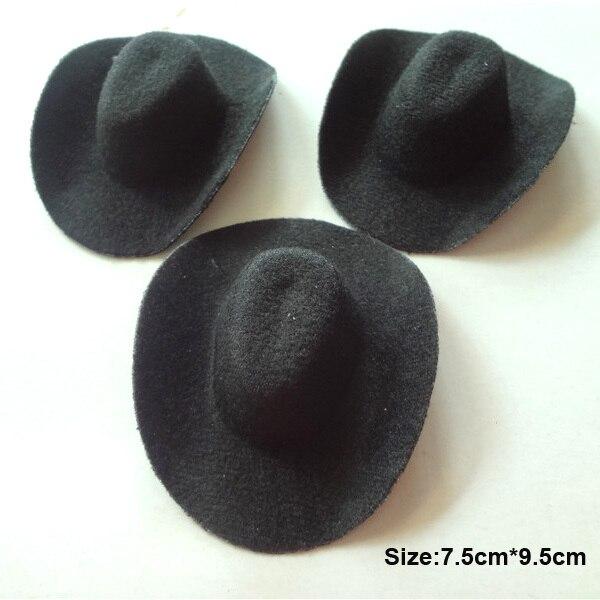 ⑧24 unids/lote normal Mini sombrero de vaquero partido De gallina ...