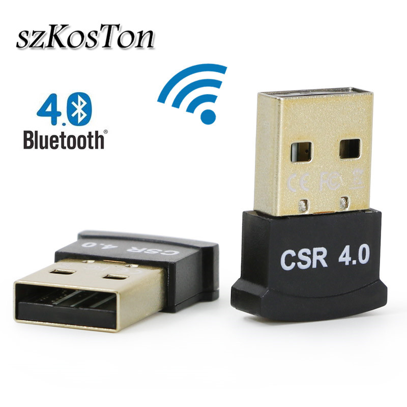Wireless USB <font><b>Bluetooth</b></font> <font><b>4.0</b></font> Adapter <font><b>Bluetooth</b></font> Dongle Audio <font><b>Receiver</b></font> <font><b>Bluetooth</b></font> Transmitter <font><b>Receiver</b></font> Adapter For Win 8 10 Computer image