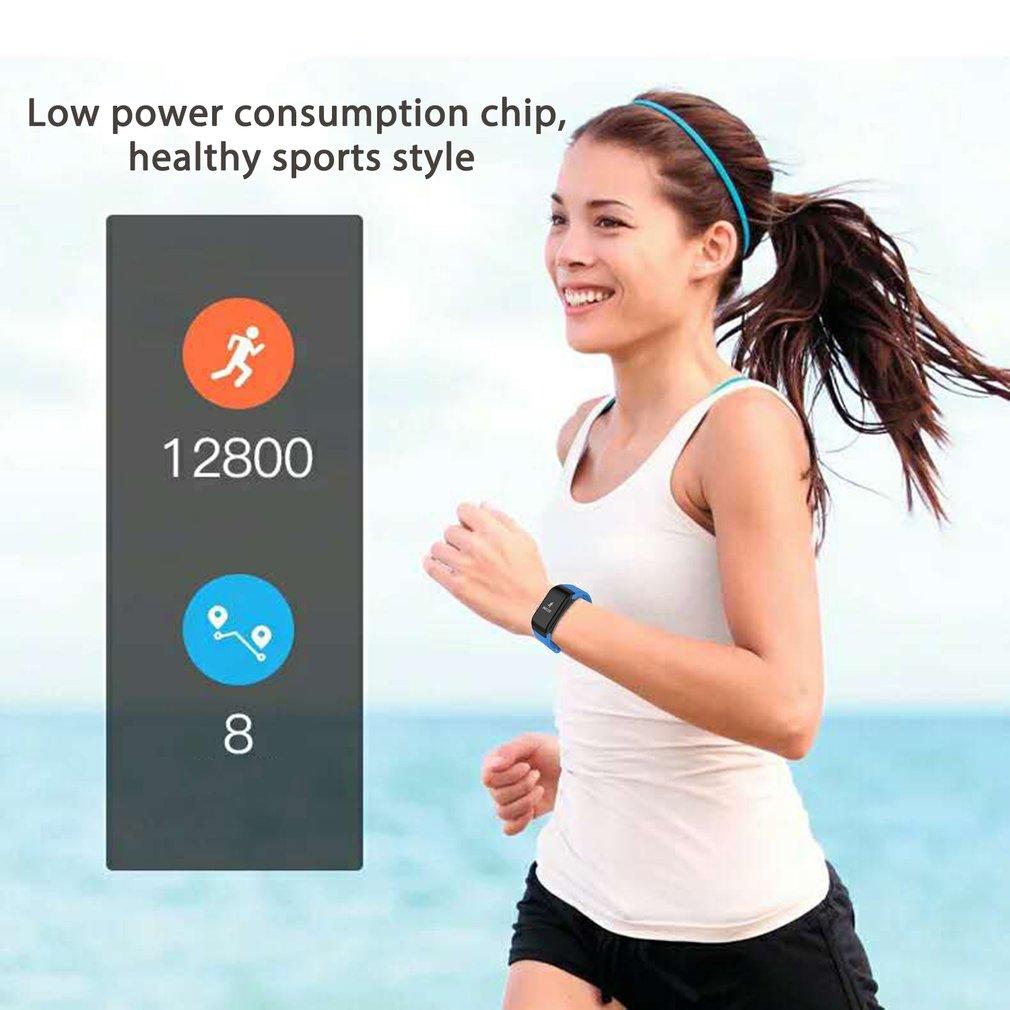 F1 Smartband Heart Rate Monitor Health Sleep Wrist Watch Waterproof Call Reminder Smart Wristband Bracelet 2018 Men's Watches Digital Watches