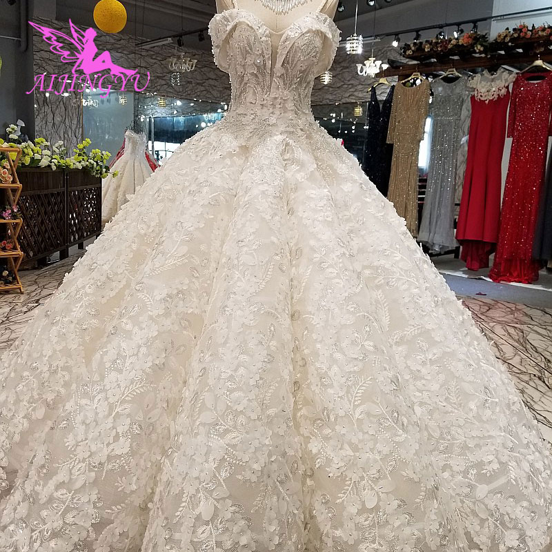 AIJINGYU Couture Wedding Gowns Indian Free Shipping On