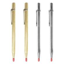 Алмазный резак для стекла, карбидный разметчик, жесткая металлическая плитка, машина для резки, надпись, ручка, гравер, стеклянный нож, инструмент для резки