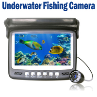 Ice Underwater Fish Finder Video Camera Fishing Recording DVR IR Night Vision With 15m Cable TF