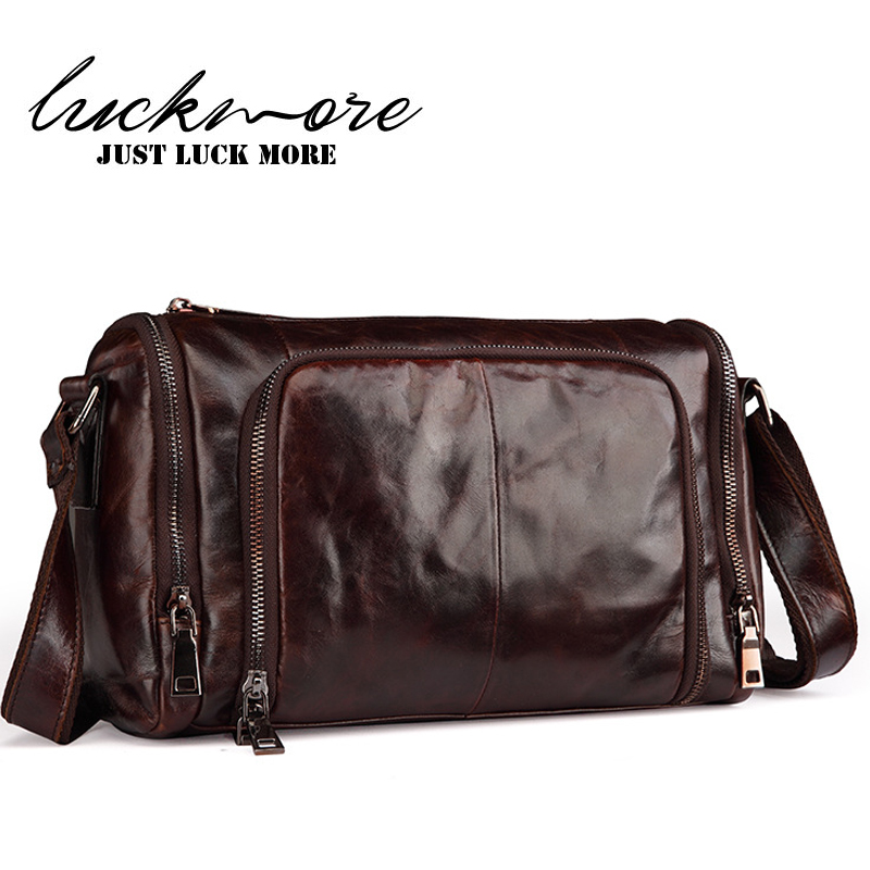 Genuine Leather Crossbody Bags For Men Messenger Bag Famous Brand Casual Designer Vintage Cowhide Man Shoulder Bags High Quality ou ba shu fashion designer high quality genuine leather crossbody bags design bags cowhide leather small messenger bag for man