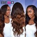 7A Ombre Hair Extensions 1B/33 Peruvian Virgin Hair Body Wave 4 Bundles Peruvian Body Wave Ombre Peruvian Hair Human Hair Weave