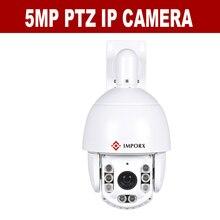 Darmowa Wysyłka 5MP Kamera obsługuje 36x zoom optyczny IR: 150 m H.265 Sieci IR PTZ speed Dome Kamera 5.0MP kopuła