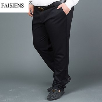 Formal Men Plus Size Big 8XL 9XL 10XL Suit Pants 12XL 14XL 15XL Business Office Pants Straight 48 50 52 54 58 Oversize Trousers
