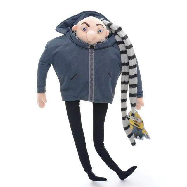 ba712a9e92a Rare muñecas Despicable Me Minion padre Gru peluche de felpa de cine  película figura juguetes muñecas