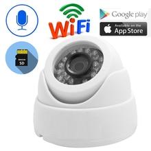 JIENUO cámara Ip de seguridad inalámbrica con Wifi, 1080P, 960P, 720P, Cctv, Audio IPCam, interior, domo infrarrojo, para el hogar