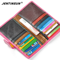 Hot Sale Genuine Leather Women Card Holder Wallets High Quality Female Credit Card Holders Women Card