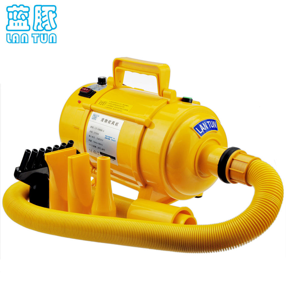 2017 New High Power Ultra Quiet Available Stepless Speed Pet Dryer dryer pet dog professional hair dryer ultra quiet high power stepless regulation of the speed drying machine 2400 w