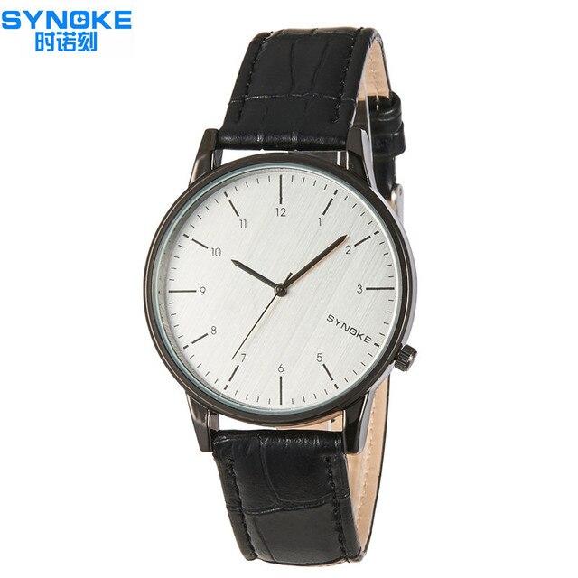 914375064ef 2018 Melhor Marca De Luxo Mulheres Relógios SYNOKE Moda Da Senhora Do  Vintage Relógio de Quartzo