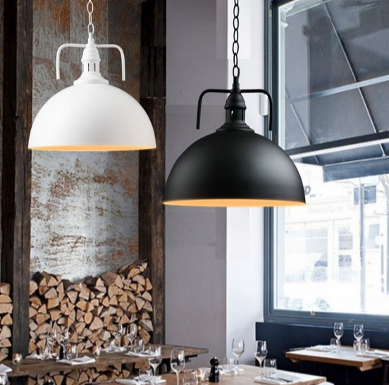 Loft industriel lampe Antique Edison ampoule Vintage pendentif luminaires  fer suspendu Droplight pour salle à manger éclairage intérieur b6350786f6bc