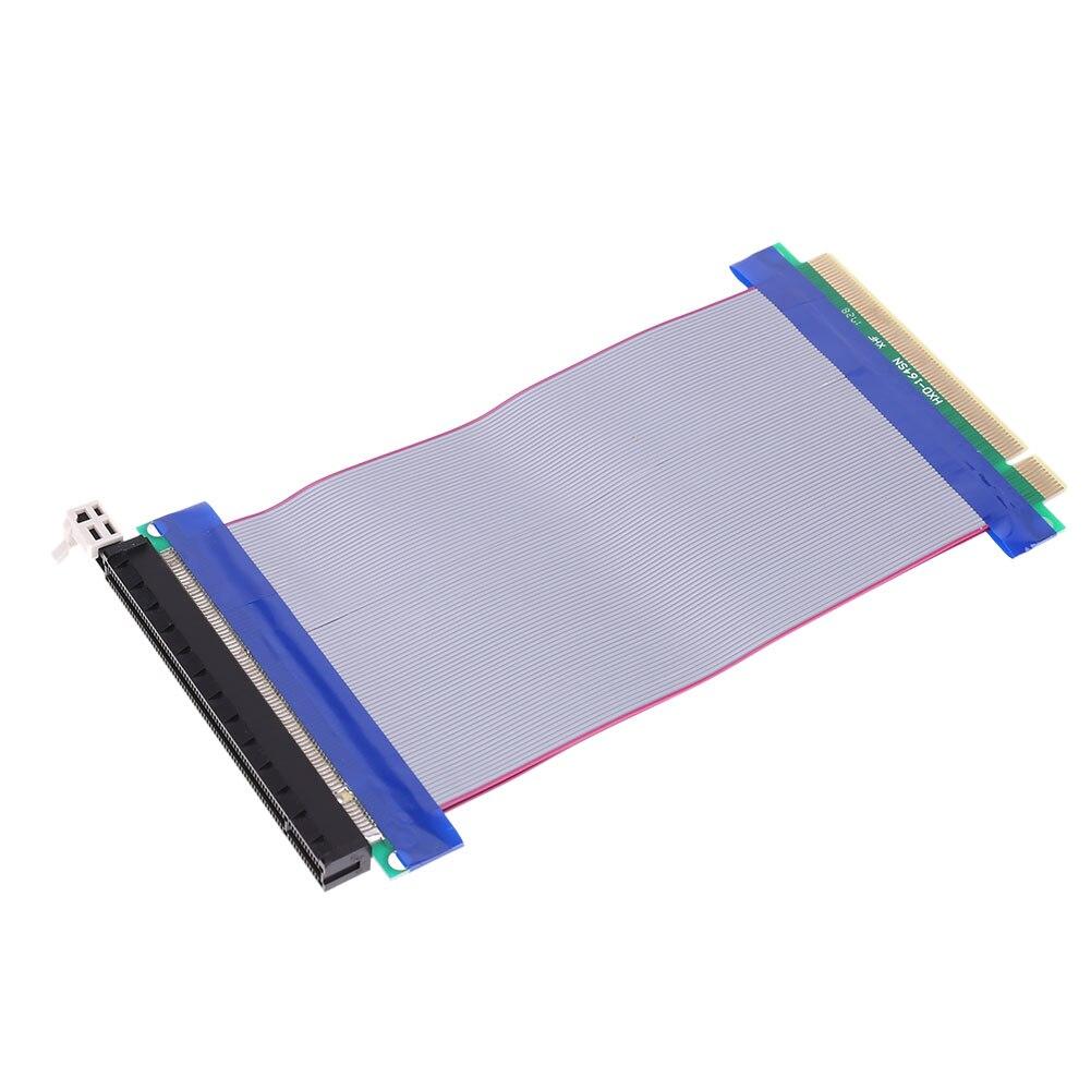 PCI Express PCI-E 16X Slots Riser Card Extender Flexible Extension Cable 15cm Cable Length Connector Hot Sale pci