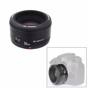 Image 4 - YONGNUO YN50mm YN50 F1.8 عدسة الكاميرا EF 50 مللي متر AF MF العدسات لكانون المتمردين T6 EOS 700D 750D 800D 5D مارك II IV 10D 1300D Yongnuo