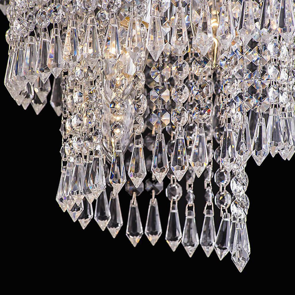 30 шт. акриловый кристалл прозрачный гирлянда Висячие бусина занавес Свадебная вечеринка украшение практичное использование дома 2019 Новое поступление # G8