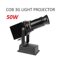 HD High Brightness 50W LED Light Logo Image Projector for Shop Mall Advertising