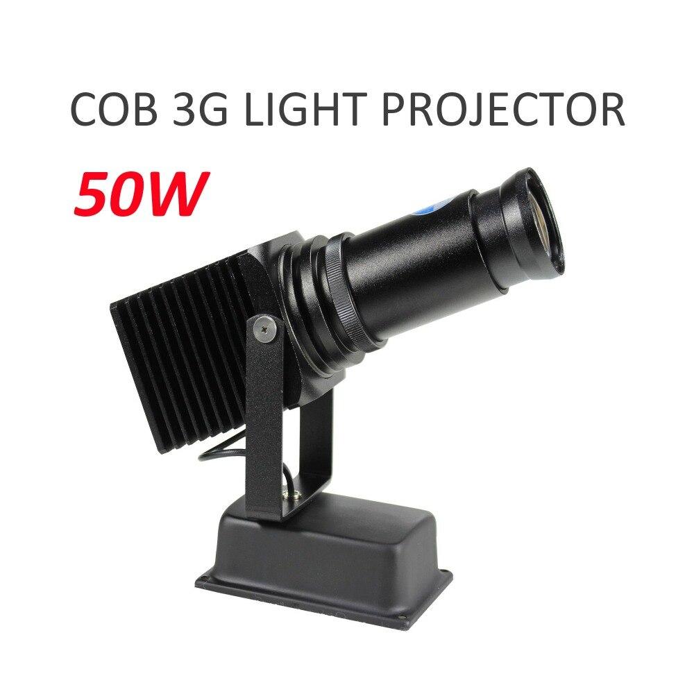 Projecteur d'image de Logo de lumière LED de l'intense luminosité 50 W de HD pour la publicité de centre commercial de magasin