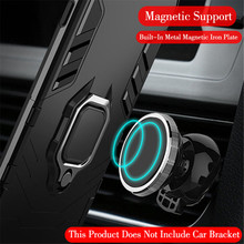Mobile phone shell is suitable for 9, J4, J6, A8 plus magnetic car seat, ring bracket, body armor, mobile shell, soft sili