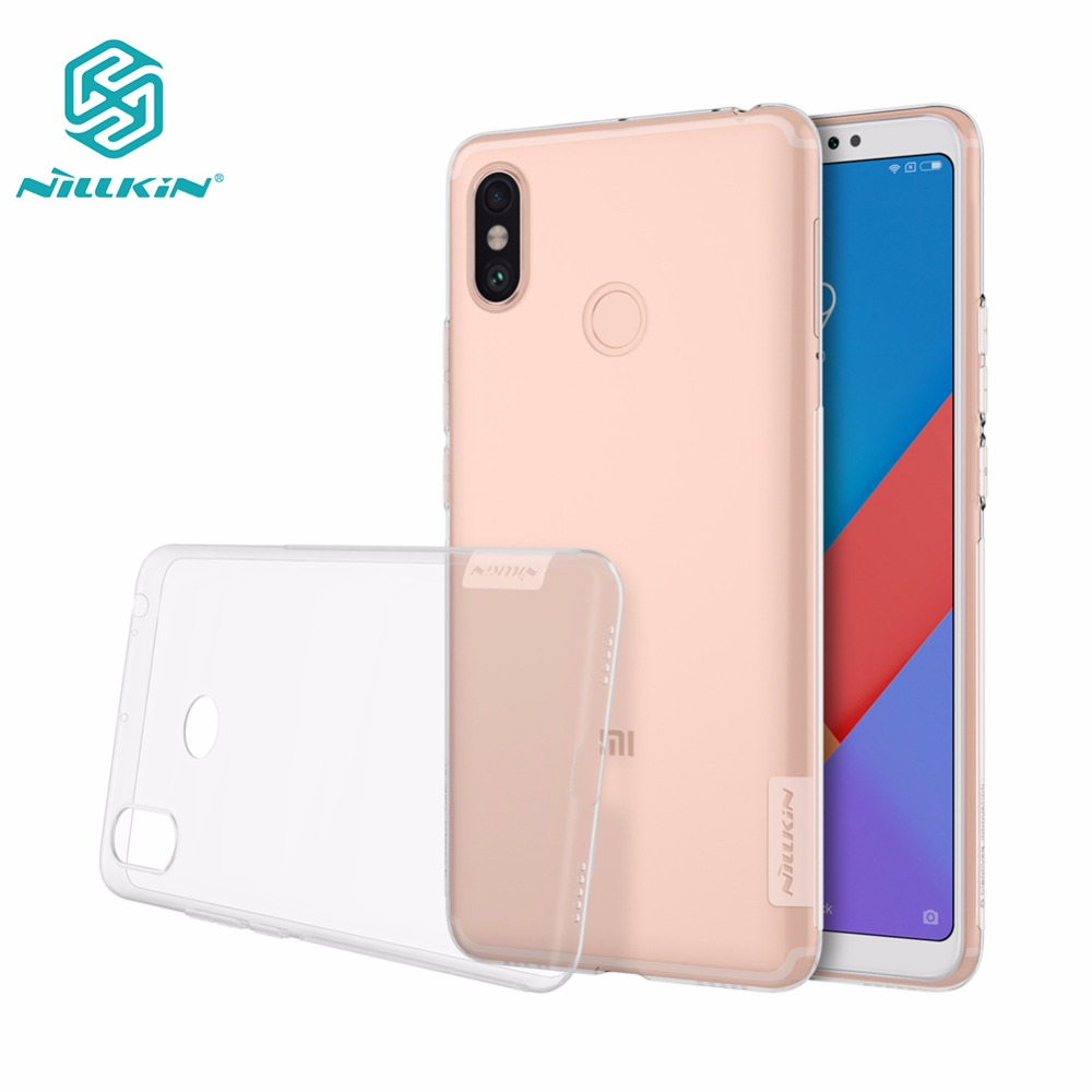 NILLKIN Back-Cover-Case Xiaomi For Mi-Max 3-nillkin/Nature/Tpu/Soft With Retail-Package