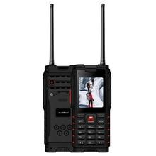 ioutdoor T2 IP68 Водонепроникна 2.4-дюймова 4500mAh UHF Walkie Talkie Bluetooth Подвійна SIM-карта Міцний телефон