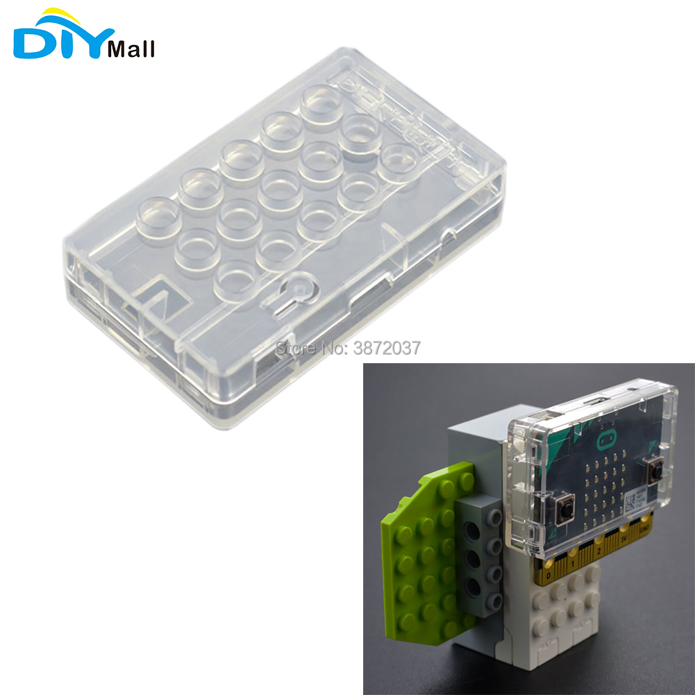 DIYmall For Micro:bit LEGO Enclosure Transparent Protective Case For ABS Material LEGO Compatible