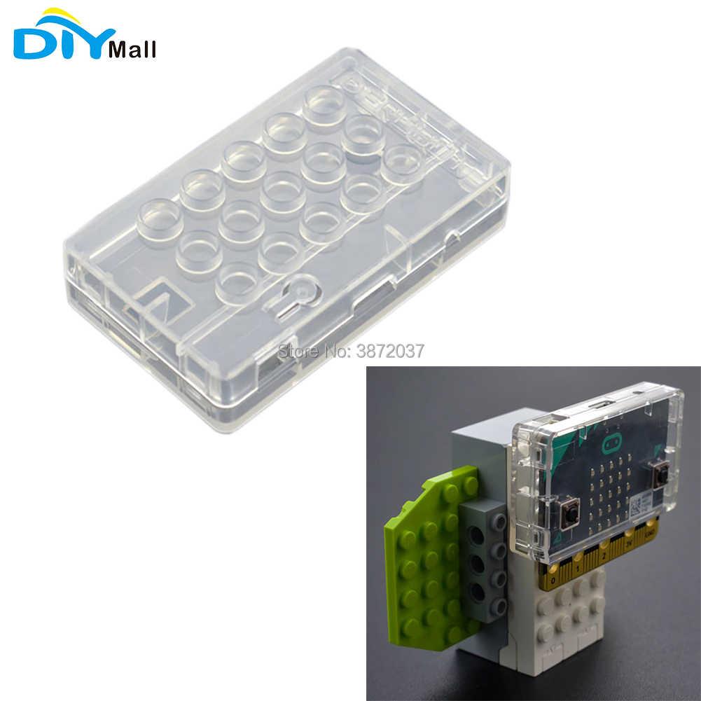 DIYmall для micro: bit лего корпус прозрачный защитный чехол для ABS Материал Совместимость с LEGO