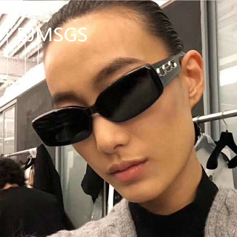 db760017e78 2019 Sunglasses Women Fashion Brand Designer Rectangle Sun Glasses Ladies  Vintage Candy Color Eyewear Shades