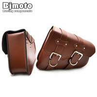 BJMOTO Pair Motorcycle Saddle Bags Saddlebag Prince Regal Raptor Cruise Vehicle Side Box Edge Motorcycle Knight