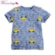 712182d1 Children's T shirt Boys T-shirt Baby Clothing Little Boy Summer Shirt Tees  Designer Cotton Cartoon Clothes 1-6Y